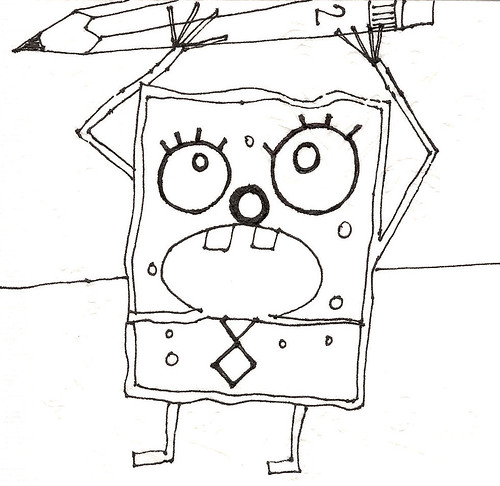 spongebob coloring pages images lego - photo#27