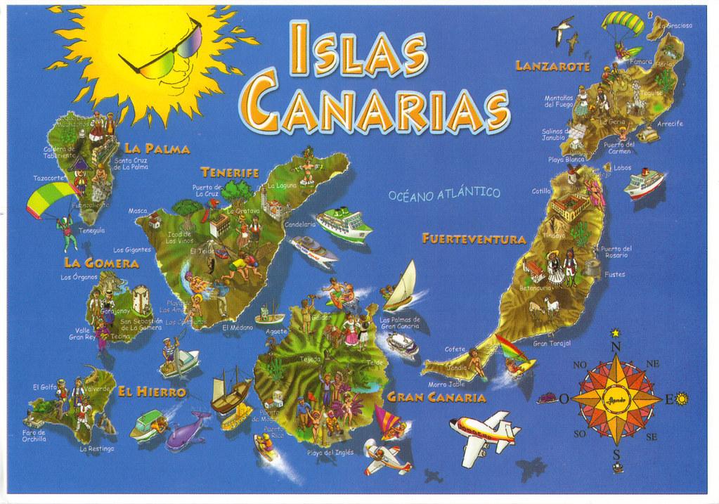 Гранканария на карте мира
