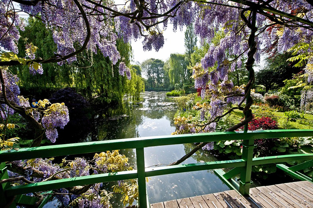 Monet\'s Garden in Giverny, France - The Pond (V) | View from… | Flickr