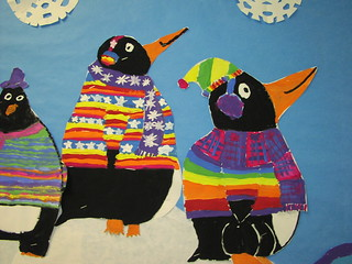 Tacky the Penguin inspired Mural | by Paintbrush Rocket