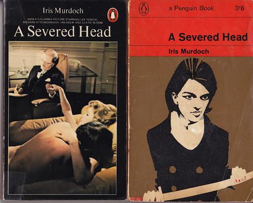 a severed head by iris murdoch essay Essay on reflection in iris murdoch's under the net  in iris murdoch's a  severed head, the novel's protagonist martin lynch-gibbon sustains a series of.