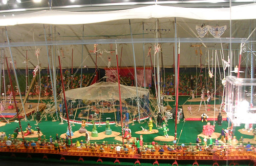 Circus Museum - Model At Tibbals Learning Center