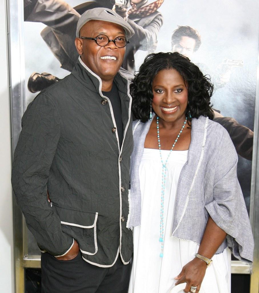 Samuel L Jackson And Latanya Richardson The Other Guys M