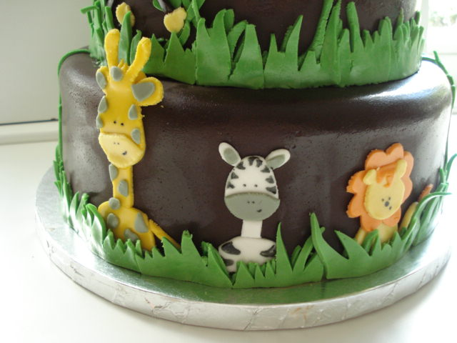 Safari Animals Cake Cakes Safari Animal Baby