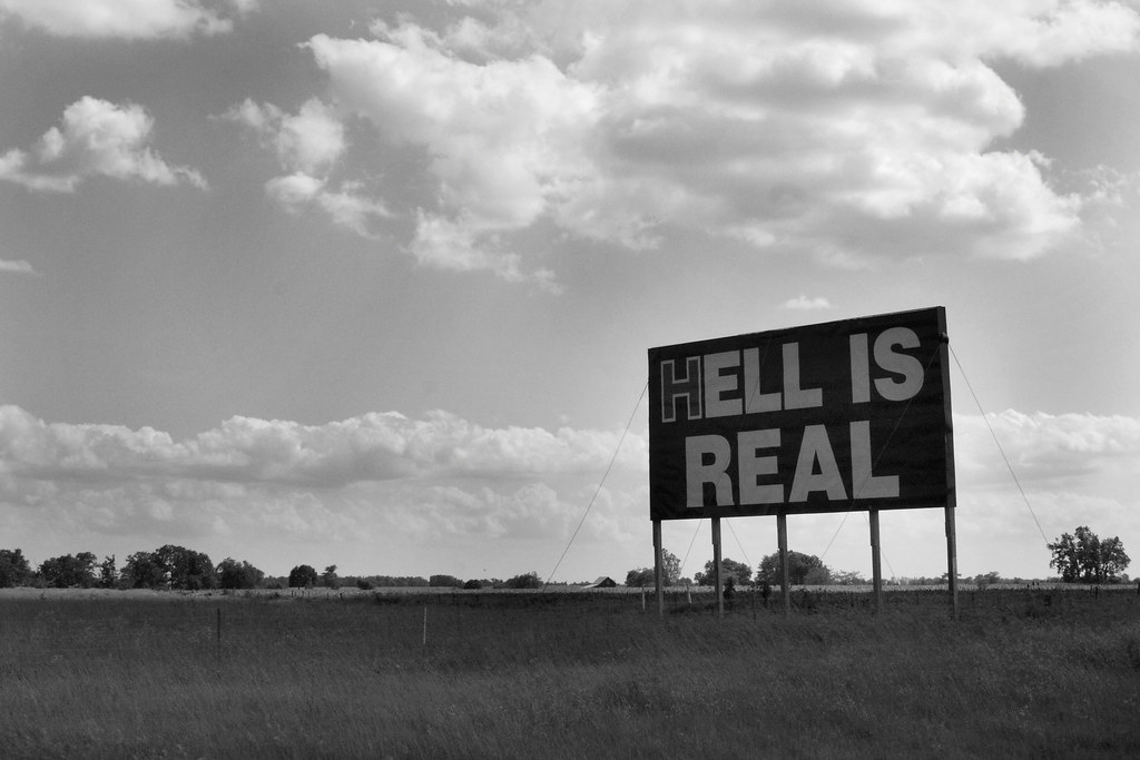 """HELL IS REAL"": The Battle over an Interstate Billboard"