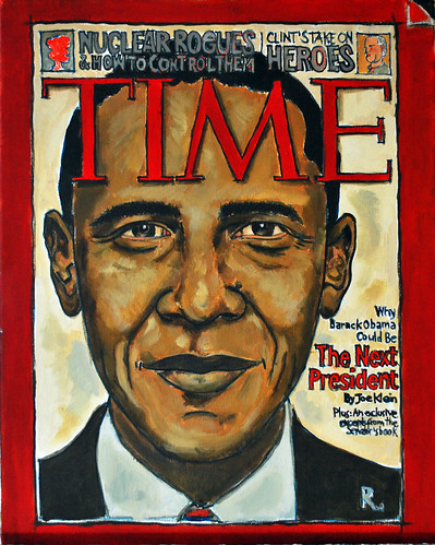 Obama on Times, The Hague 2009 | by Roberto Rocco