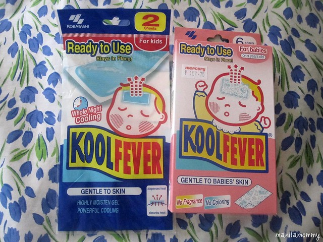 Kool fever patch for babies