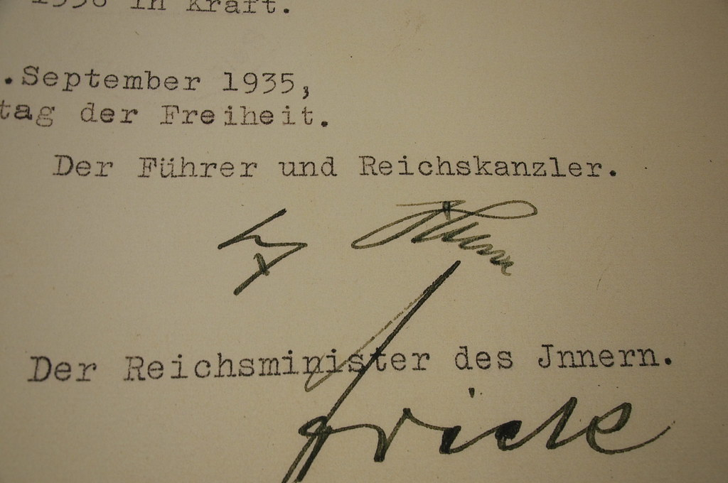 Adolf Hitler Signature Adolf Hitler Signature On The