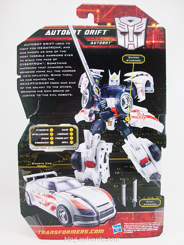 Transformers Drift Generations Deluxe - caja | by mdverde