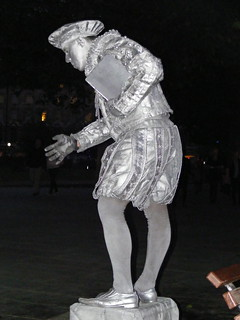 Silver Man - Street Entertainer - South Bank | by Hythe Eye