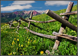 Fence Friday - Colorado Style!! | by RondaKimbrow