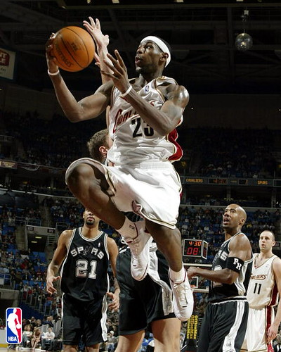 LeBron James 20032004 | by Cavs History