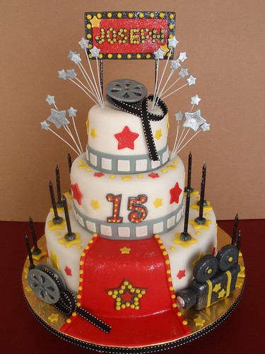 Hollywood Cake Nora Rexach Flickr