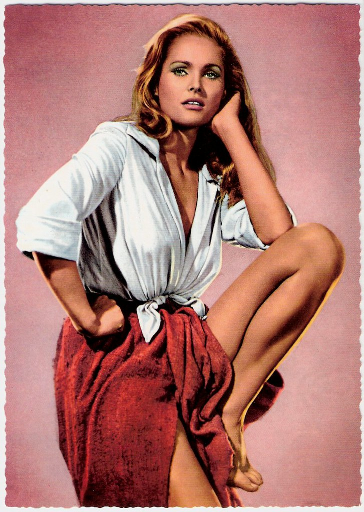 Ursula Andress | German postcard by Krüger, nr. 902/411 ...