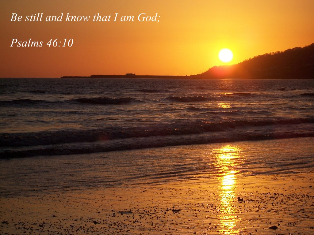 Charmouth Beach Sunset Be Still And Know That I Am God Ps Flickr