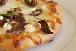 mushroom pizza | by Madison Bistro