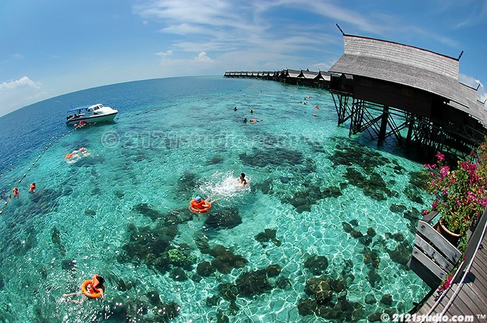 Snorkeling sipadan kapalai dive resort location - Kapalai dive resort price ...