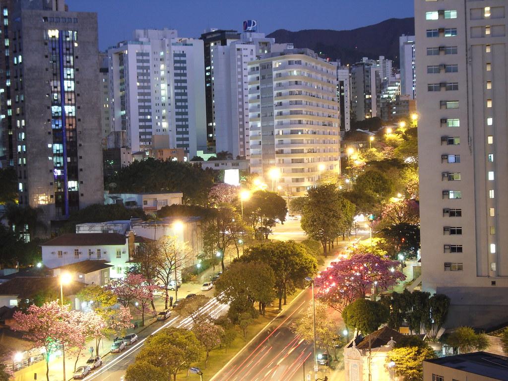 Belo Horizonte Av Afonso Pena Esquina Com Av Professor
