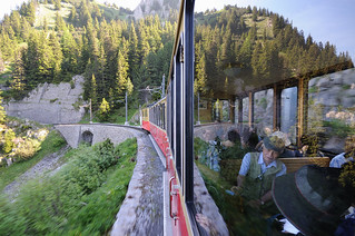 inside and outside the Schynige Platte Railway | by Toni_V
