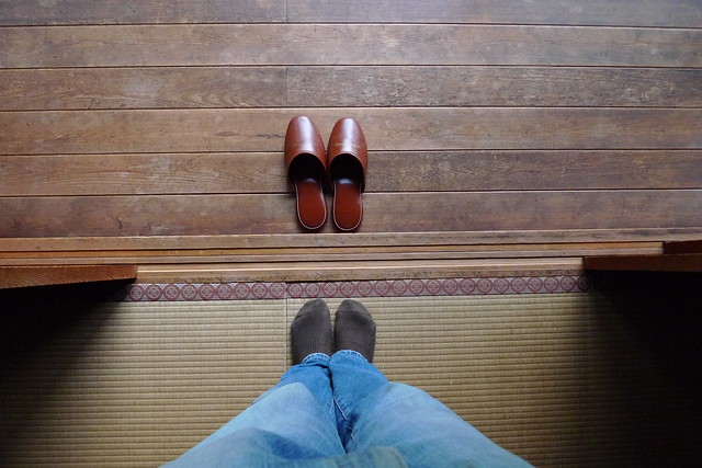 No shoes inside no slippers on the tatami mat flickr photo sharing - No shoes doormat ...