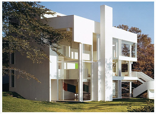 Richard Meier Exterior Design Sample Of The Amazing Design Flickr