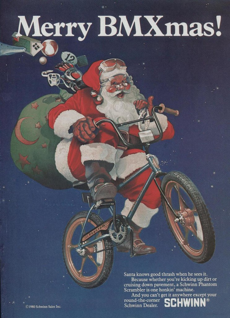 Schwinn Bmx Christmas Ad 1980 Shawn Robare Flickr