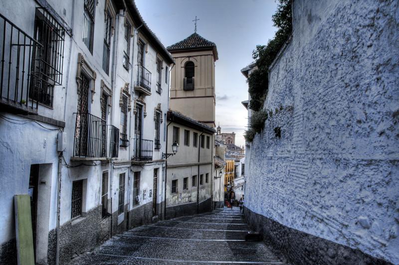 Roteiro pelos bairros dos Sacromonte e Albaicín