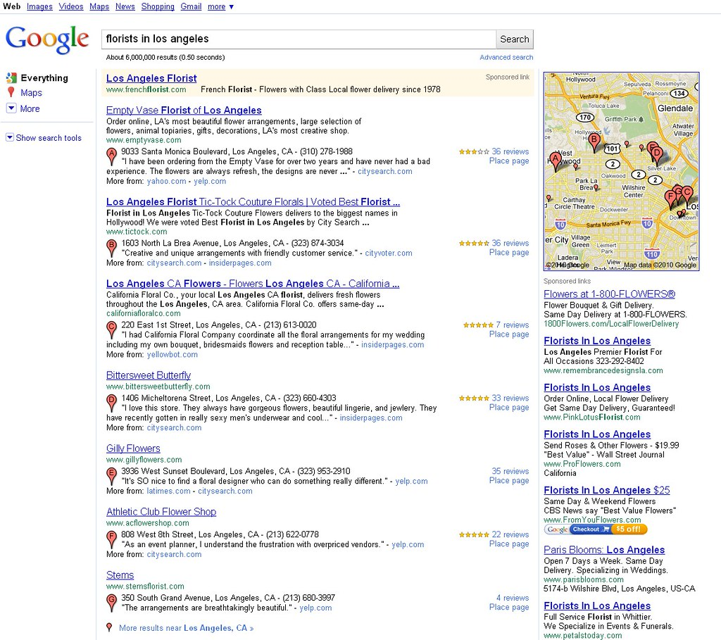 Google new local serp layout googles new experimental s flickr google new local serp layout by si1very reviewsmspy