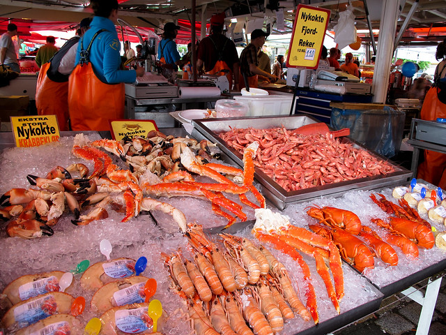 Fish market bergen norway flickr photo sharing for Fish stores in utah