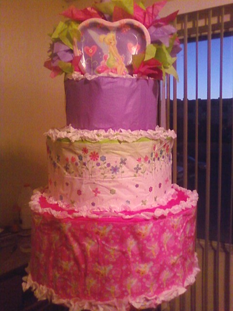 Tinkerbell Pinata Cake Ideas and Designs