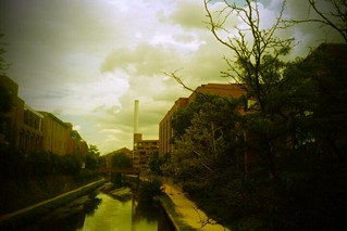 C&O Canal through FxCamera Android photo app | by brownpau