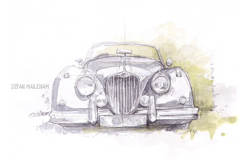 Jaguar Xk150 We Had A Village Fete At The Weekend Which Fe Flickr
