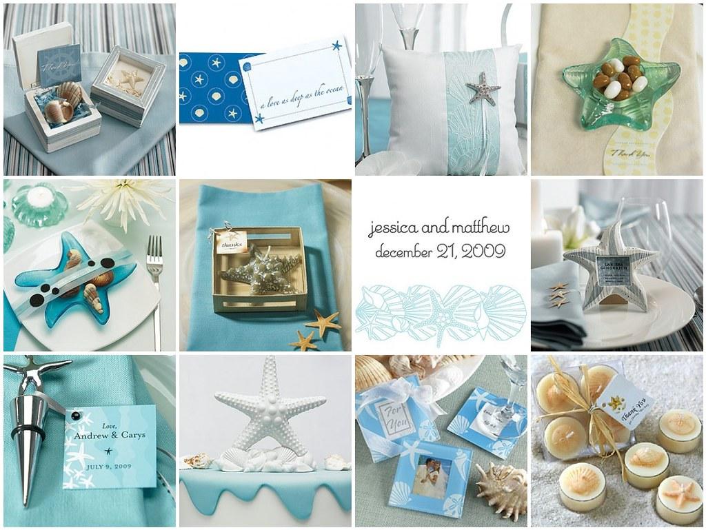 Starfish wedding
