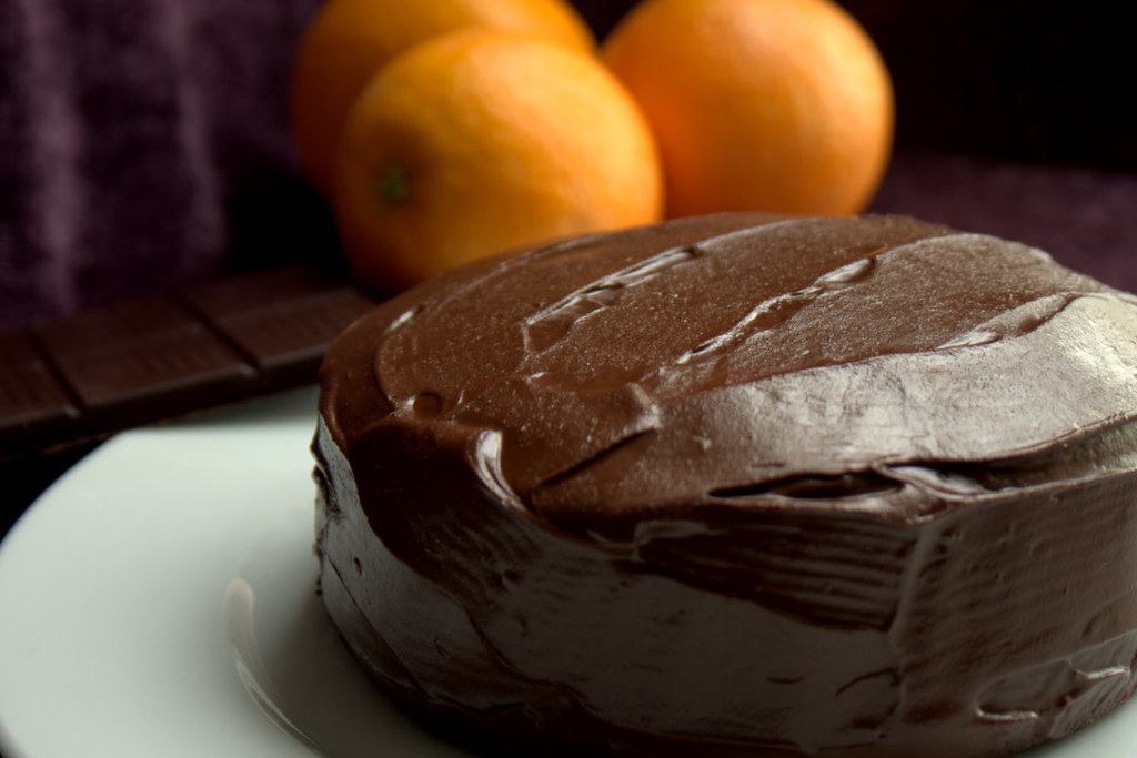 Chocolate Orange Sponge Cake Recipe