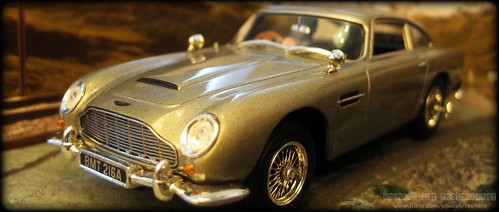 Aston Martin Toy Car Collection