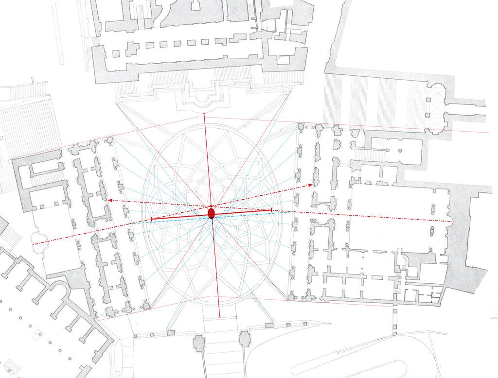 capitoline plan diagram  portoghesi  cr