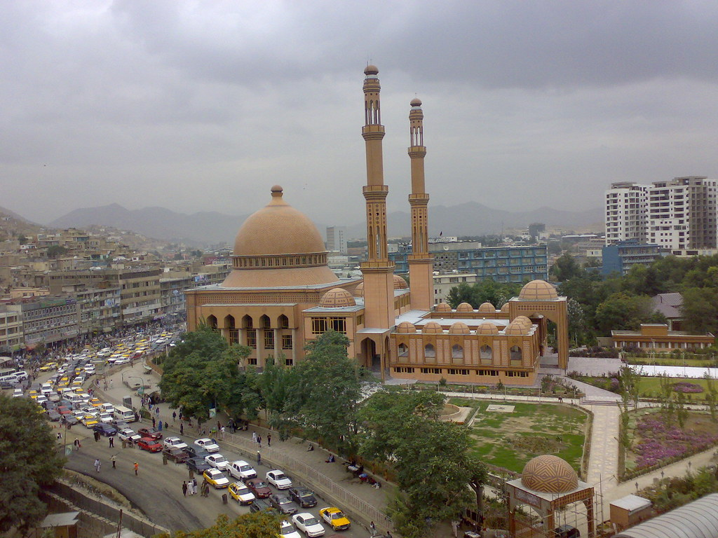 Traffic >> Kabul Mosque + usual Traffic | Shot with my trusty old N73 a… | Flickr