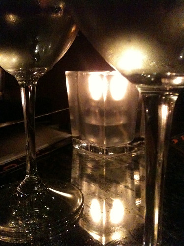 Sancerre by candlelight @ChezPapaResto | by hizknits