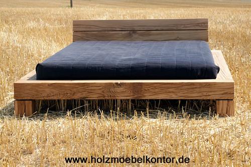 bett eiche 160 x 210 einzigartige schlafm bel balken. Black Bedroom Furniture Sets. Home Design Ideas