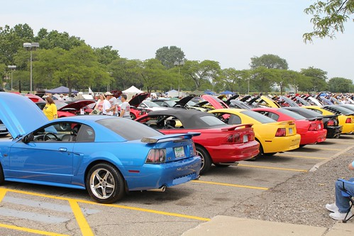 Mustang Memories All Ford Car Show Swap