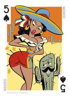 Sombrero playing card | by Jeff Houck