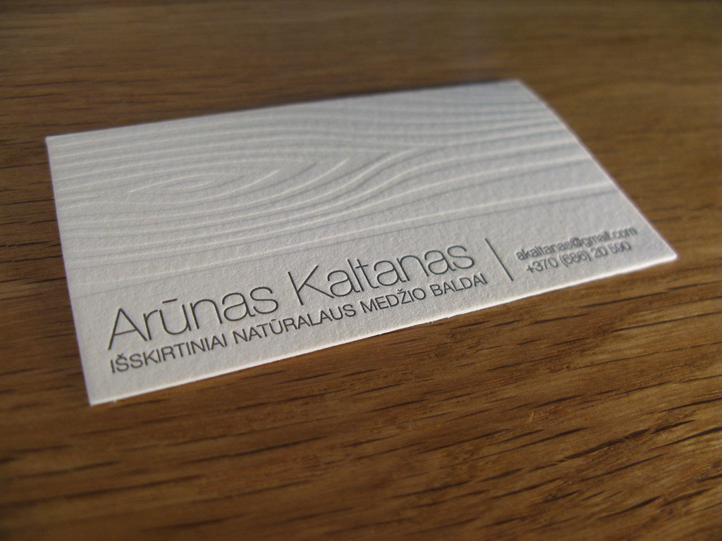 Business card with wooden texture   Business card for furnit…   Flickr
