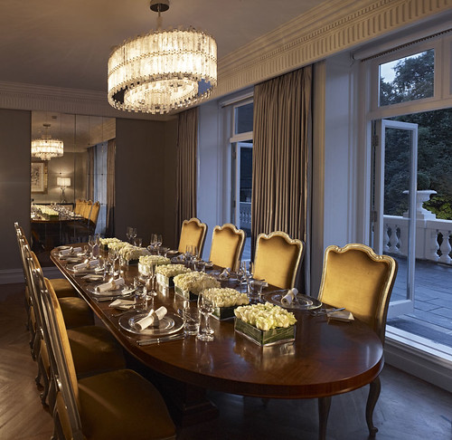 Dining Rooms From The Orient: The Private Dining Room In The Royal Suite, Mandarin Orien