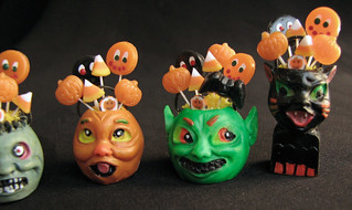 Dollhouse spooky Halloween pumpkins | by goddess of chocolate