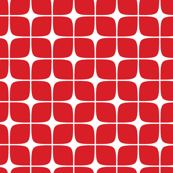 Pattern Modern Deco Red | Textile pattern design. Will be ...