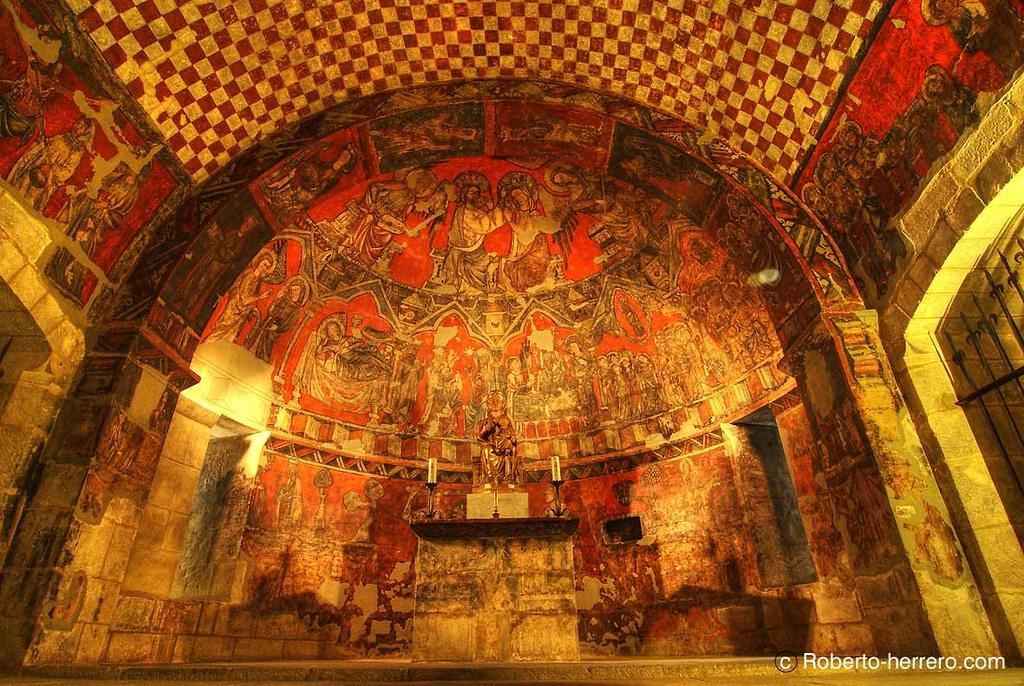 Pintura g tica cripta de la iglesia de san esteban en - Roberto herrero ...