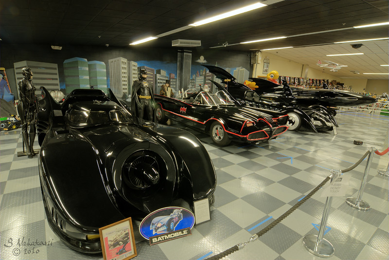 Batman's Garage