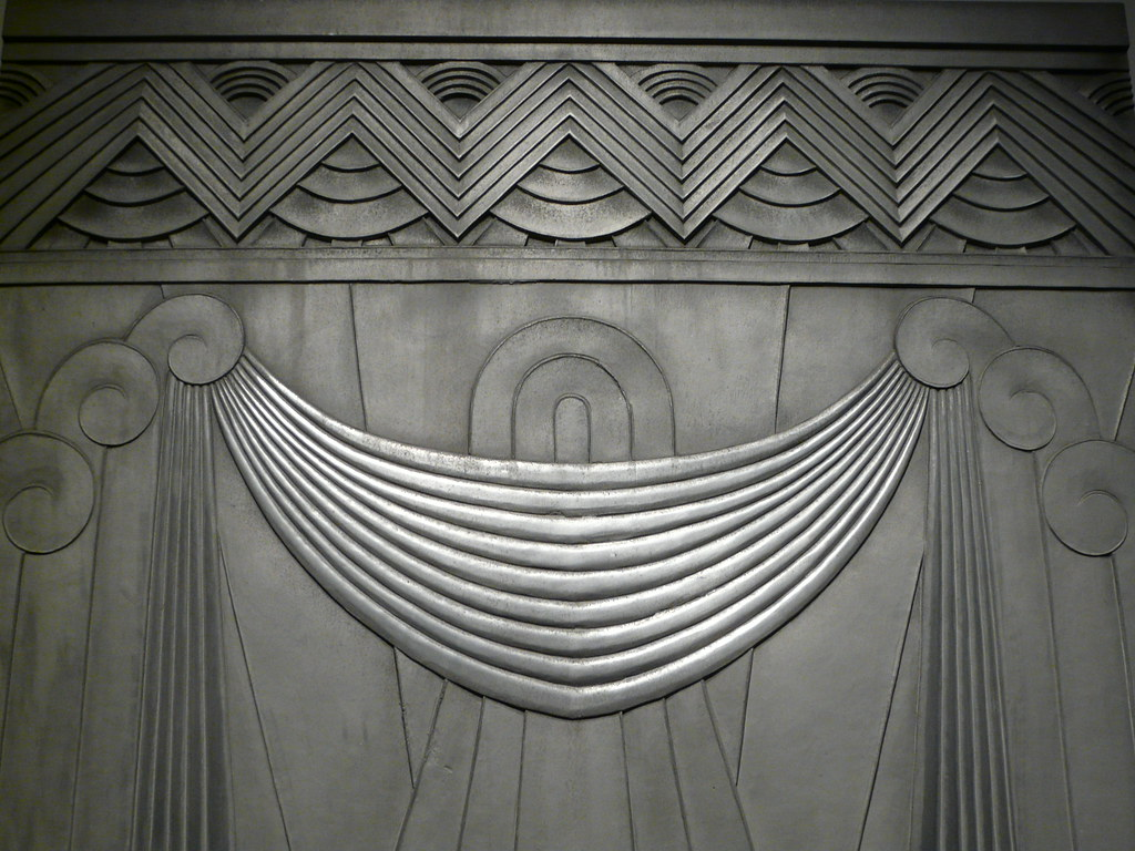 9037 deco bas relief in the omca cast aluminum panel des flickr