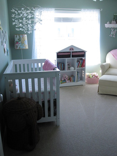 nursery looking into the room m sundstrom flickr. Black Bedroom Furniture Sets. Home Design Ideas