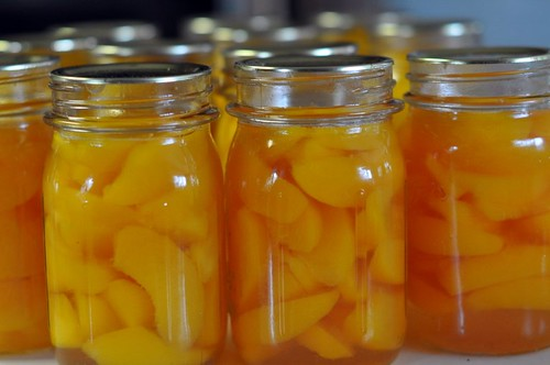 233. canned peaches | by Lynn Carson Harris